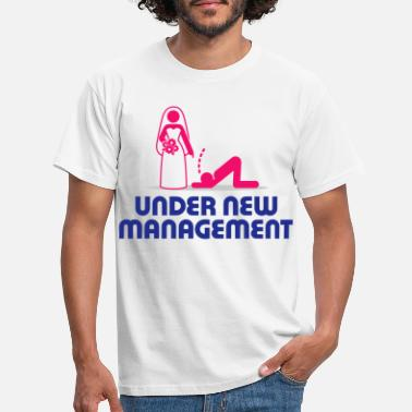Wedding Under new management - Men's T-Shirt
