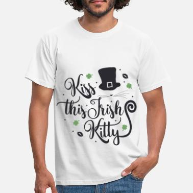 Kis KIS DENNE IRISH KITTY - T-skjorte for menn