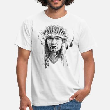 Indianere Indian - T-shirt mænd