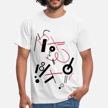 Composition Abstract composition - Men's T-Shirt