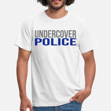 Undercover Police T-Shirt Mens Womens Funny gift Present