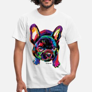 PD Moreno Colorful Dog - Men's T-Shirt