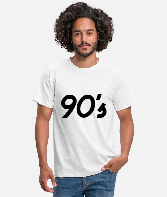 1998 T-Shirts - 90`s present - Men's T-Shirt white