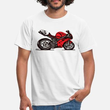 996 Superbike comic-style - Men's T-Shirt