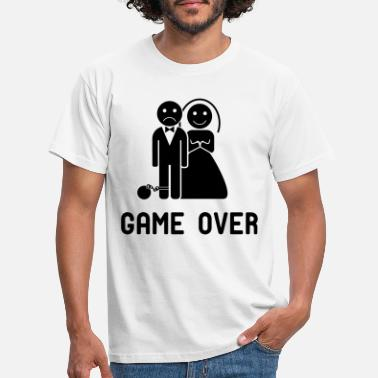 Game Over Vrijgezellenfeest game over! - Mannen T-shirt