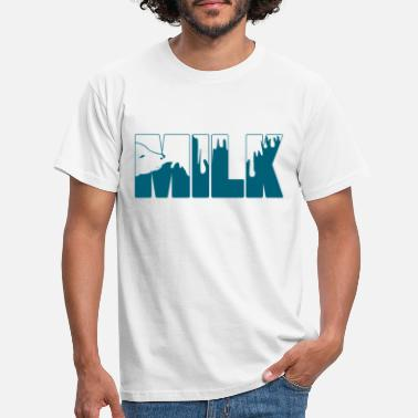 Milk Milk drink - Men's T-Shirt