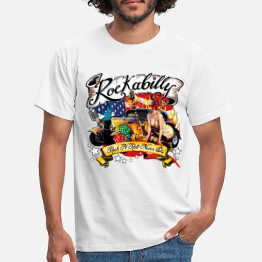 Rockabilly Rockabilly - Rock'nRoll Design - Männer T-Shirt