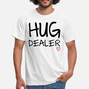 Free Hugs Hug Dealer - T-skjorte for menn