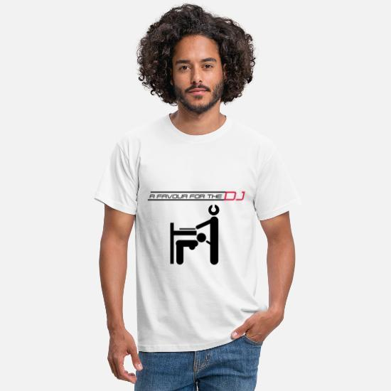 Cool T-Shirts - dj - Men's T-Shirt white