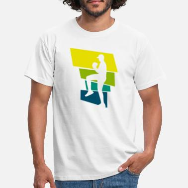 Pitching Pitching baseball - T-shirt herr