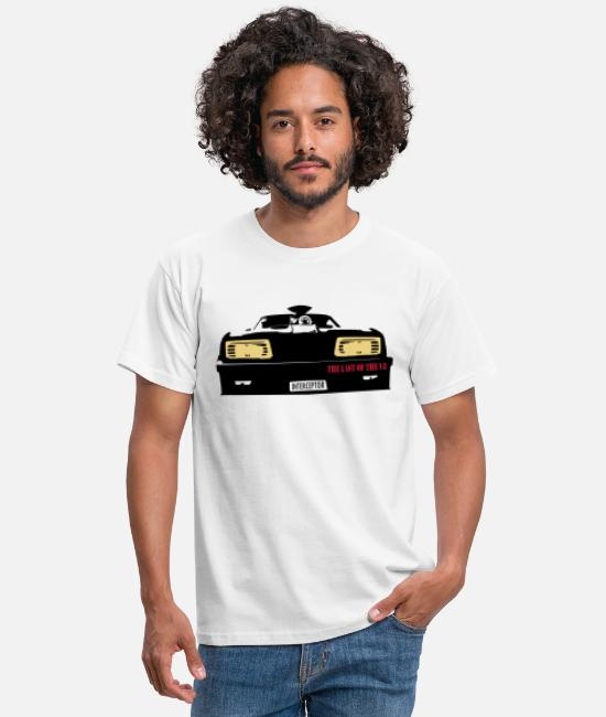 Fury Road T-Shirts - Interceptor - Männer T-Shirt Weiß