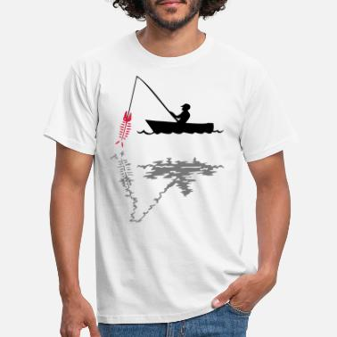 Angling angling - Men's T-Shirt