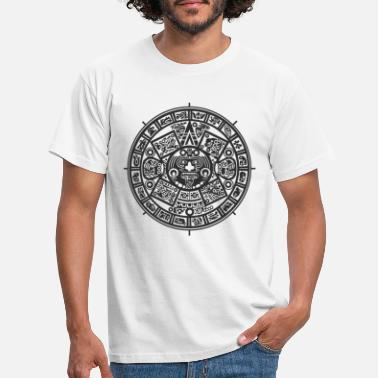 Black And White Collection Azteken - Men's T-Shirt