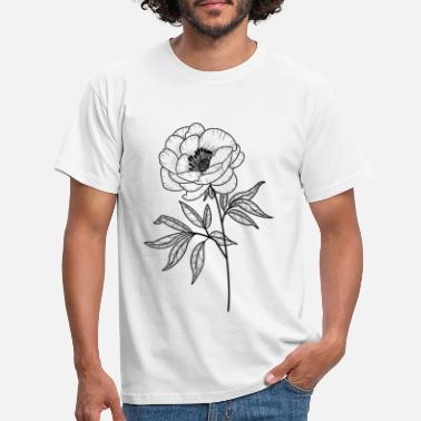 Stem stem flower - Men's T-Shirt