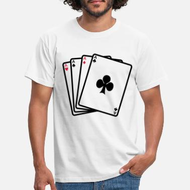 Cards poker cards - T-shirt Homme