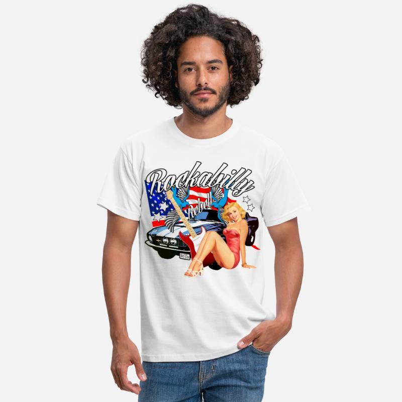 Für rockabilly männer outfit Rockabilly kleidung