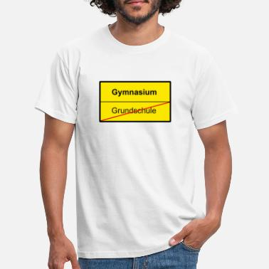 Gymnasium Bye Elementary School - Hello Gymnasium - Men's T-Shirt