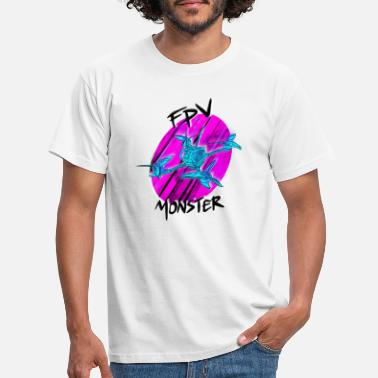 Spark FPV monster / racing drone / pilot drone - Men's T-Shirt