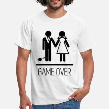 fdf84187 Game over - Stag do - Hen party - Funny - Men's. Men's T-Shirt