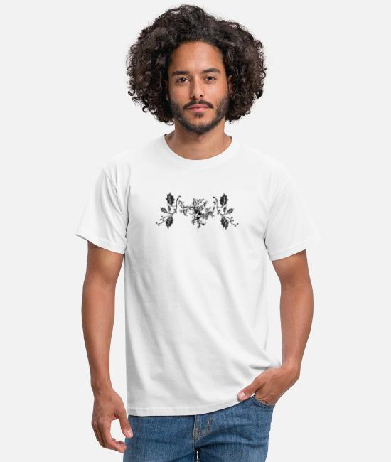 Mistletoe T-Shirts - Christmas mistletoe - Men's T-Shirt white