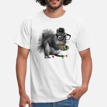 Coole Rubik's Squirrel - Männer T-Shirt