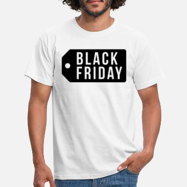 Prislapp Black Friday prislapp - T-skjorte for menn