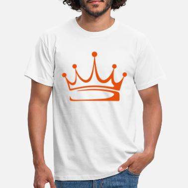 Crown to print on for hoodie, t-shirt, bag - Men's T-Shirt