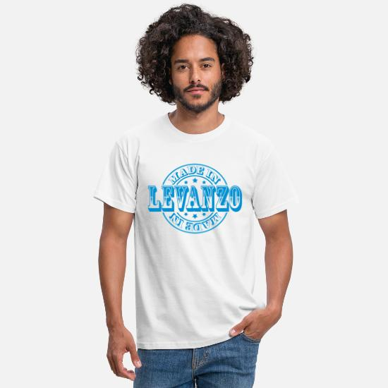 Italy T-Shirts - Made in Levanzo m1 - Men's T-Shirt white