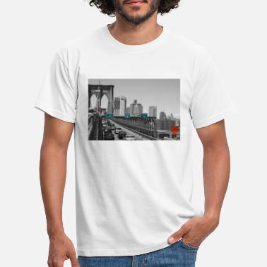 Brooklyn Bridge Brooklyn bridge - T-skjorte for menn