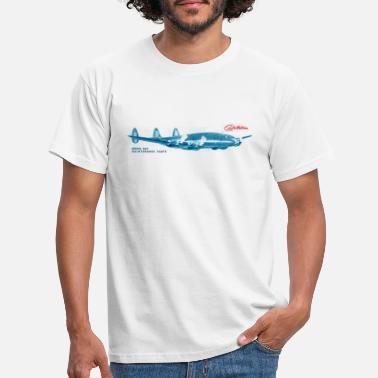 1953 Lockheed Constellation L-049 Maintenance Parts - Männer T-Shirt