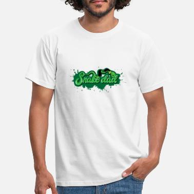 Snake Dad - Men's T-Shirt