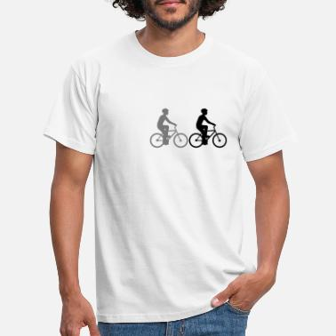 Sports Car Team sport crew friends 3 race cyclists - Men's T-Shirt
