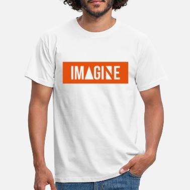 Imaginär Imagine - Männer T-Shirt