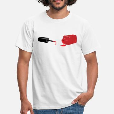 Ongles vernis à ongles - T-shirt Homme