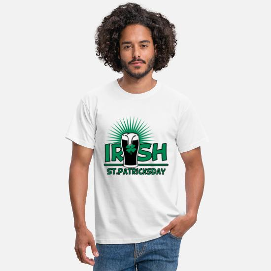 St T-Shirts - st. patrick's day - Men's T-Shirt white