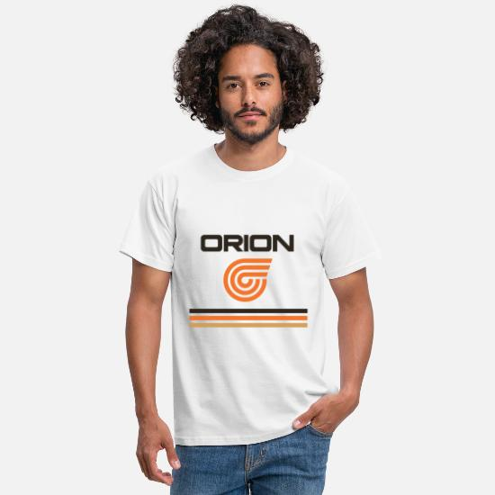 Airline T-Shirts - Orion Airways Retro Livery 1980's Charter Airline - Men's T-Shirt white