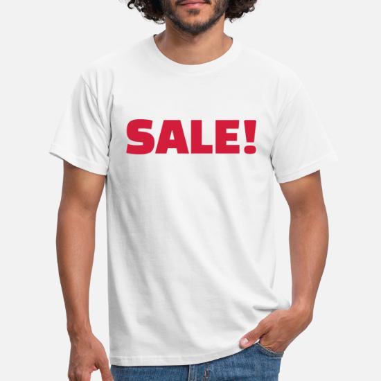 competitive price 79d3d ffc17 Sale Männer T-Shirt - Weiß
