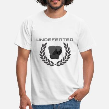 Undefeated Undefeated Champion Boxer - Men's T-Shirt