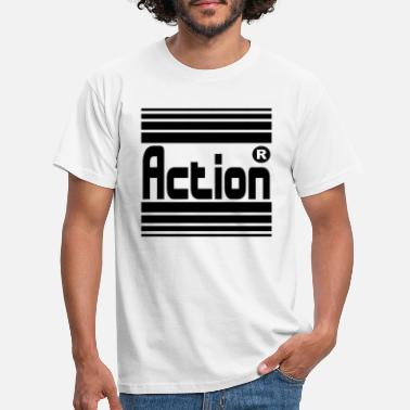Action ACTION - T-skjorte for menn