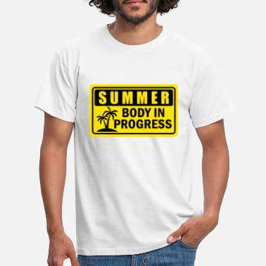 Body SUMMER BODY IN PROGRESS - Men's T-Shirt