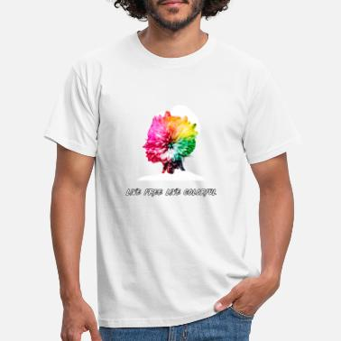 Flourishing thought - Men's T-Shirt