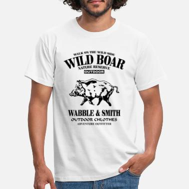 Wild Wild Boar - Men's T-Shirt