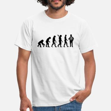 Dragspel Evolution Dragspel - T-shirt herr