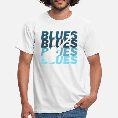 Blues Blues - Männer T-Shirt