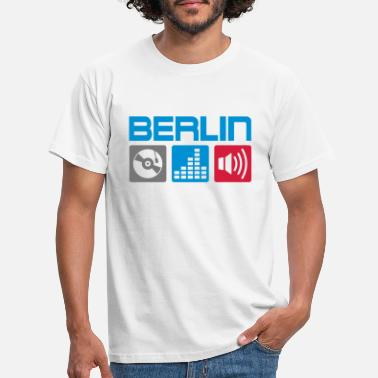 Berlin Berlin DJ - Men's T-Shirt