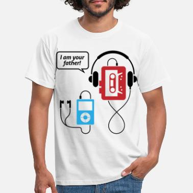Funny MP3 player, I am your father! - Men's T-Shirt