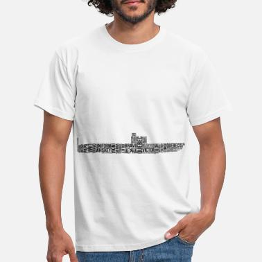 NATO alphabet submarine - Men's T-Shirt