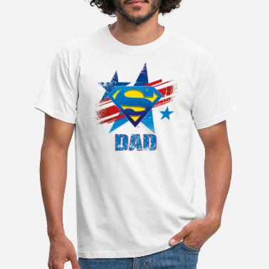 S-shield Superman 'S-Shield Dad' Männer T-Shirt - Männer T-Shirt