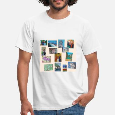Collage Collage - Männer T-Shirt