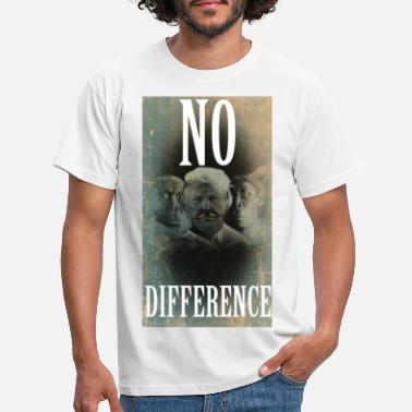 Neanderthal Donald Trumo Neanderthal no difference - Men's T-Shirt